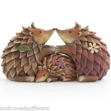 Loving Hedgehog Family Figurine !FREE UK P&P!