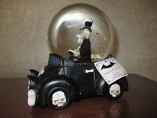 """NWT Musical Skeleton Bride Groom """"Love Bug"""" Snow/Water Globe,Wedding-Halloween!!"""