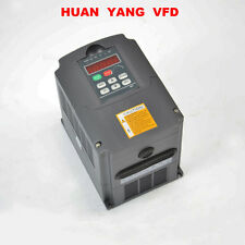 SPEED CONTROL 2.2KW 3HP 220V VARIABLE FREQUENCY DRIVE INVERTER VFD 10A CE NEW