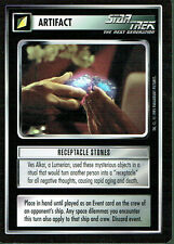 STAR TREK CCG ALTERNATE UNIVERSE RARE CARD RECEPTACLE STONES