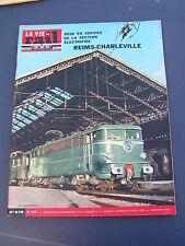 vie du rail 1965 978 CHARLEVILLE MéZIèRES RETHEL YVERNAUMONT SAINT PIERRE VENCE