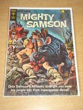 MIGHTY SAMSON #3 VG+ (4.5) GOLD KEY COMICS SEPTEMBER 1965