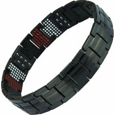 ION Magnetic Energy Germanium Power Bracelet Health 4in1 Bio Armband TITANIUM