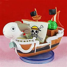 ONE PIECE GOING MERRY SHIP NAVE 8 CM GASHAPON FIGURE PIRATES LUFFY RUBBER ACE #1