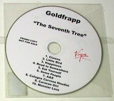 GOLDFRAPP - THE SEVENTH TREE - CD PROMO 10 Trks  Nuovo Unplayed