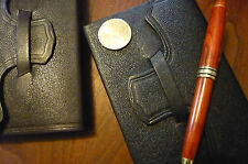 Fine Moroccan Leather cover for Moleskine Classic Notebooks and other brands