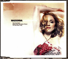 CD SINGLE promo MADONNA american pie 2-TRACKS GERMANY 2000