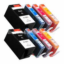 8 PACK 920XL NEW GENERIC 920 HIGH YIELD 920XL w/Chip+INK LEVEL for HP Printer