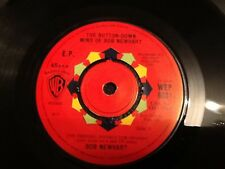 "BOB NEWHART . 2 STAND UP COMIC ROUTINES, THE DRIVING INSTRUCTOR. 7"" vinyl 1960"