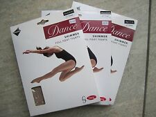 Dance Tights - Light toast Shimmer Footed Small (82-92cm hips, 150-162cm height)