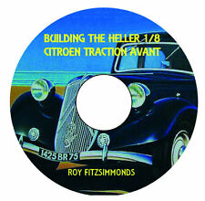 1/8 scale Heller Citroen Traction model kit Build CD