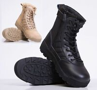 Men`s shoes Army Combat Patrol Tactical Cadet Boots outdoor paintball boots