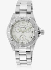New Invicta 17523 Lady's Angel Silver Dial 40mm Steel Bracelet Sport Watch