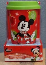 Disney Minnie Mouse Ceramic Christmas Traveling Mug with Silicone Lid NEW
