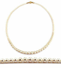 "18"" Graduated Akoya Pearl Necklace-14K-AAA/NKL040037"