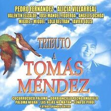 NEW - Tributo a Tomas Mendez by Various Artists