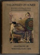 The Odyssey of Homer by S. H. Butcher (W. Russell Flint Illus.)