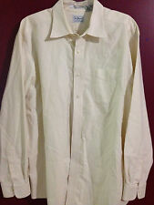 Mens L.L. Bean Wrinkle Resistant 17- 35 Long Sleeve Button Down Shirt Oxford