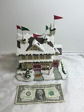 2006 Hawthorne Village Santa and Mrs Claus' Castle Rudolph's Christmas Town Col.