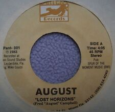 AUGUST Lost Horizons / The 1- 95 Song USA PANTERA Country Novelty As*Hole Song