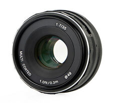 Meike 35mm f1.7 objectif Multicoated pour micro 4/3