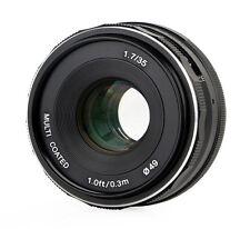 Meike 35mm F1.7 Objektiv multicoated für Micro 4/3
