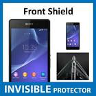 Sony Xperia Z2 Front INVISIBLE Screen Protector Shield Military Grade Protection