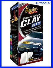 MEGUIARS ClayBar Kit Smooth Surface Professionale Clay Bar Lucida Carrozzeria