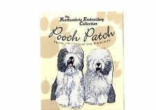 Old English Sheepdog (Bobtail) EMBROIDERED  Pooch Patch