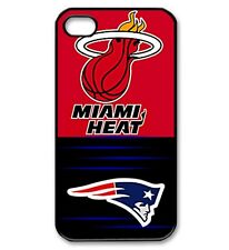 custom heat/patriots iphone 4/4s case