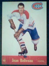 JEAN BELIVEAU  1955-56 LIMITED EDITION PARKHURST REPRINT CARD No.44