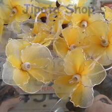 Yellow Hibiscus Nylon Party-Wedding-Decoration X-mas 110V Light String