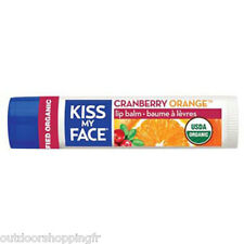 KISS MY FACE CRANBERRY ORANGE LIP BALM - Spf 15, Made W/Organic Ingredients
