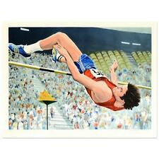 "William Nelson - ""Bruce Jenner's High Jump"" Limited Edition Serigraph  AP"