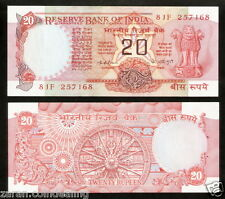 20 Rupees K.R. Puri Konark Wheel (Plain Inset) @ Uncirculated Condition ( E-5 )