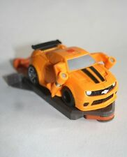 Hasbro 2010 Tomy Transformer Pop Up of Bumblebee from a Yellow Chevrolet Car