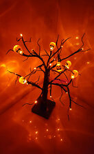 24 Arancione LED LIGHT UP ZUCCA Albero Partito Prop TAVOLA-window-decor