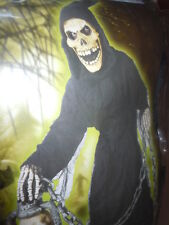 KIDS GRAVE GHOUL HALLOWEEN COSTUME UNISEX SIZE 8 NIP NEVER USED FUN WORLD