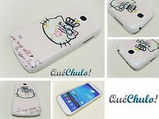 FUNDA CARCASA RÍGIDA PARA SAMSUNG GALAXY S4 MINI I9190 HELLO KITTY CORONA + FILM