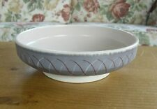 "Mid-Century Poole Pottery Freeform PRP Pattern Bowl - 8 1/8""( 20.5cms)"
