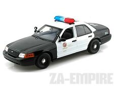 1:18 2001 Ford Crown Victoria Police Car Los Angeles Police Department LAPD New