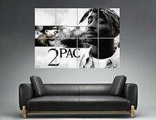 2PAC TUPAC LEGEND RAPPER HIP HOP Wall Art Poster Grand format A0 Large Print