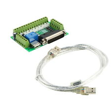 CNC 5 Axis Interface Breakout Board For Stepper Motor Driver CNC Mill MACH3 F5