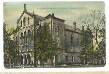 Roberts Park  M E Church  Indianapolis   IN  Mailed 1911     Postcard 6103