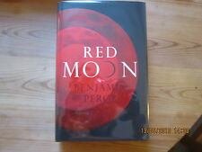 Red Moon by Benjamin Percy, HB SIGNED, PRE-PUBLICATION DATED NUMBERED  161/250)