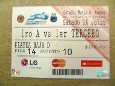 Org* Tickets- Copa America Argentina 2011 Match- Colombia v Peru, 16 July
