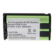Cordless Phone Battery 850mAh NiMH for Panasonic HHR-P104 HHR-P104A/1B Type 29