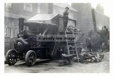 rp17692 - Bethell & Sons Contractors of Sale Foden Steam Lorry - photograph 6x4