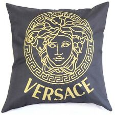 Fashion Man Design Black Zip Cotton Linen Cushion Cover Pillow Sofa 18""