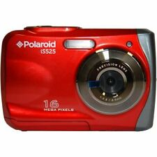 Polaroid is525 16MP 8X Digital Zoom 720p precisione Lente Fotocamera Impermeabile-Rosso